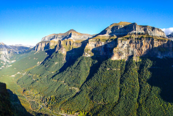 vista de ordesa - casteret guías de montaña